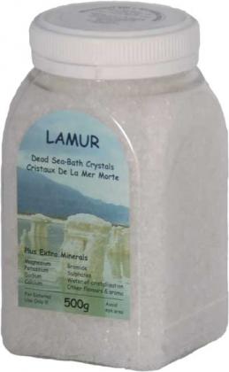 Soľ z Mŕtveho mora číra, 500g