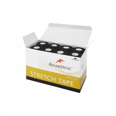 Stretch tape 5cm x 4,6m Fekete