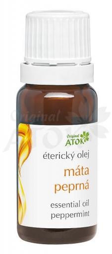 Éterický olej mäta pieporná