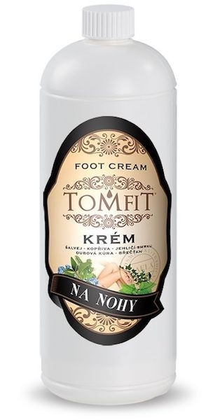 TOMFIT - krém na nohy 1 l