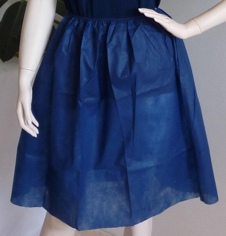 Vyšetrovacia sukňa, jednorazová
