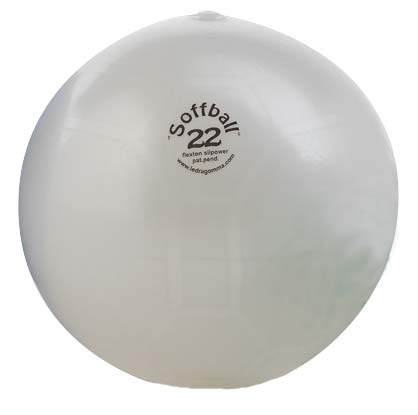 PEZZI SoffBall MAXAFE 22 cm Fehér