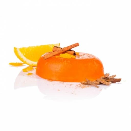 Pomarančovo-škoricové glycerínové mydlo 100g