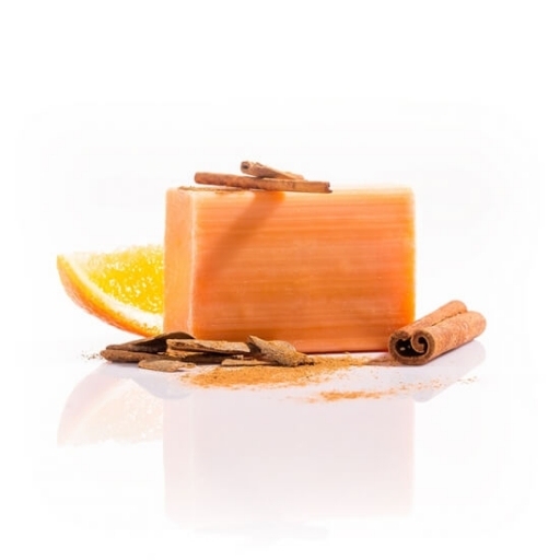 Pomarančovo-škoricové mydlo lisované za studena 110g