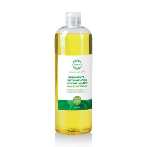 Mätovo-rozmarínový rastlinný masážny olej 1000ml