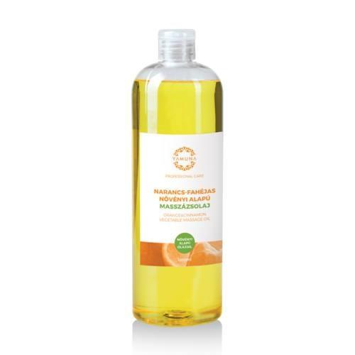 Pomarančovo-škoricový rastlinný masážny olej 1000ml