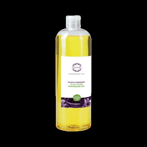 Slivkovo-škoricový rastlinný masážny olej 1000ml