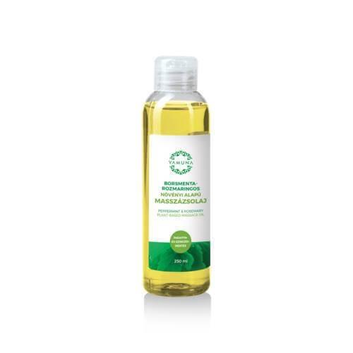 Mätovo-rozmarínový rastlinný masážny olej 250ml