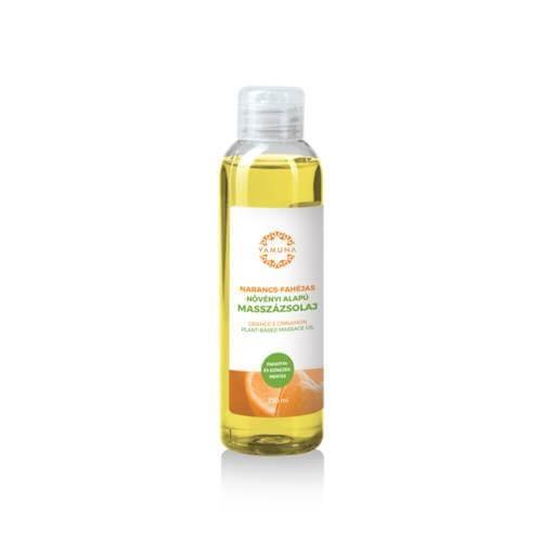 Narancs és fahéjas növényi alapú masszázsolaj  250ml