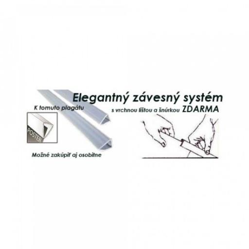Elegantný závesný systém