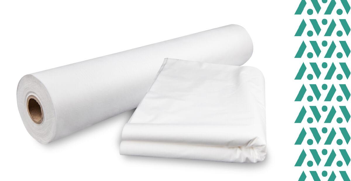 Egyszer használatos lepedők nem szőtt textilből alkalmasak a masszázságyra
