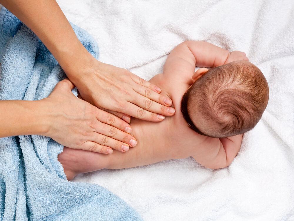 A baba nagyon intenzíven érzékeli az érintést