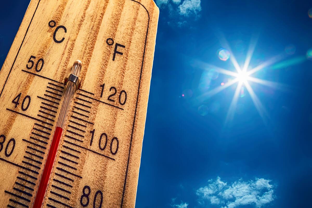 Rekord magas hőmérséklet – masszázsra menni?